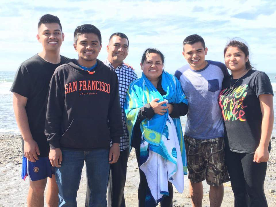 The Escobar family is united in Christ!