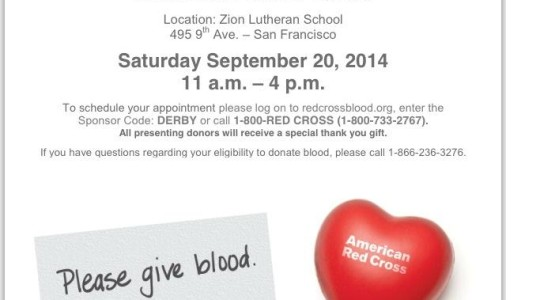 Join Us For Our Mercy Worldwide National Blood Drive on September 20th!